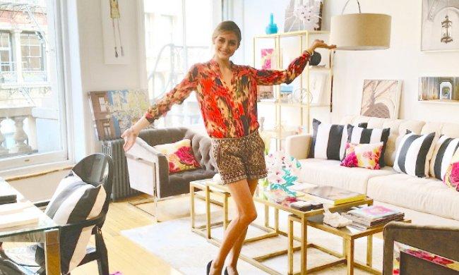 Descubre las claves de decoración de Olivia Palermo