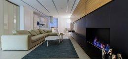 Un moderno apartamento diseñado para una joven familiao